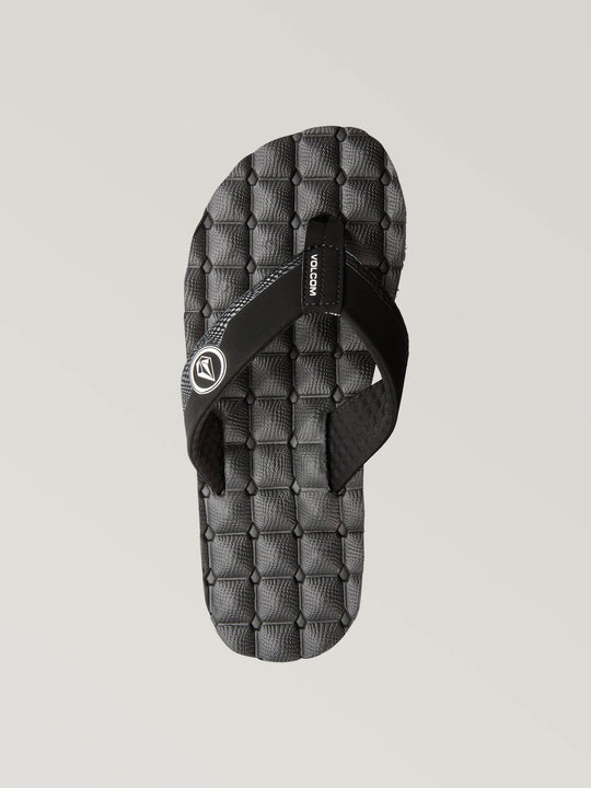 Recliner Sandals Big Youth - Black/White