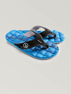 Boys Youth Recliner Sandals - Marine Blue