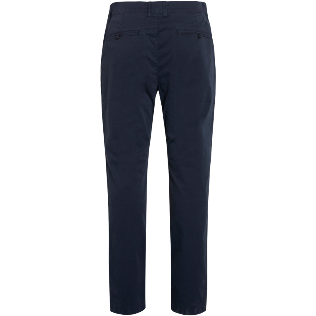 Chino Poplin Pant in Dark Navy