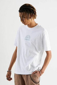 Better Daze Retro Fit Tee in White