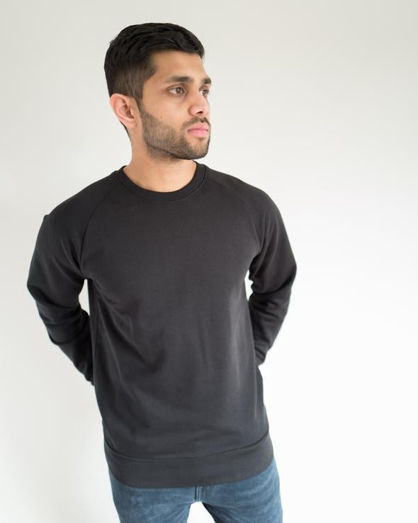 Organic Jumper in Black