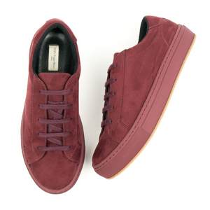 Will's Vegan - Sneakers in Wine Suede