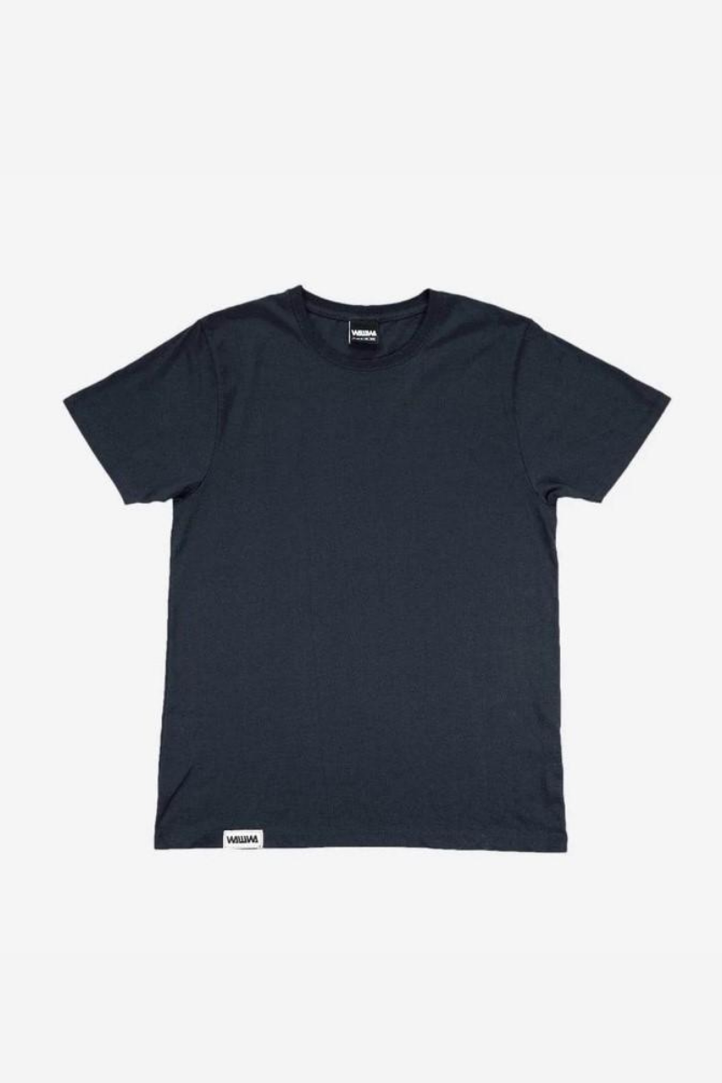 WAWWA - Heavyweight Organic T-Shirt in Heavy Navy
