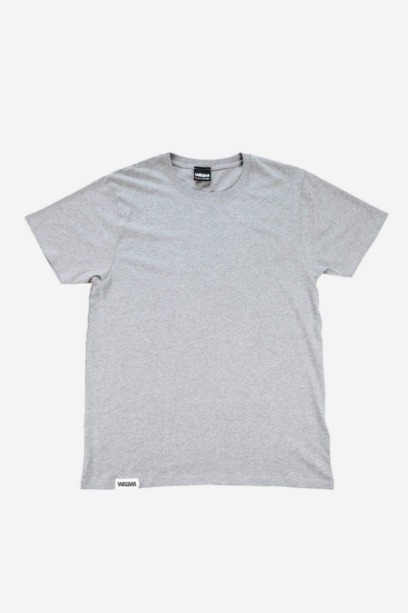 WAWWA - Heavyweight Organic T-Shirt in Heavy Grey