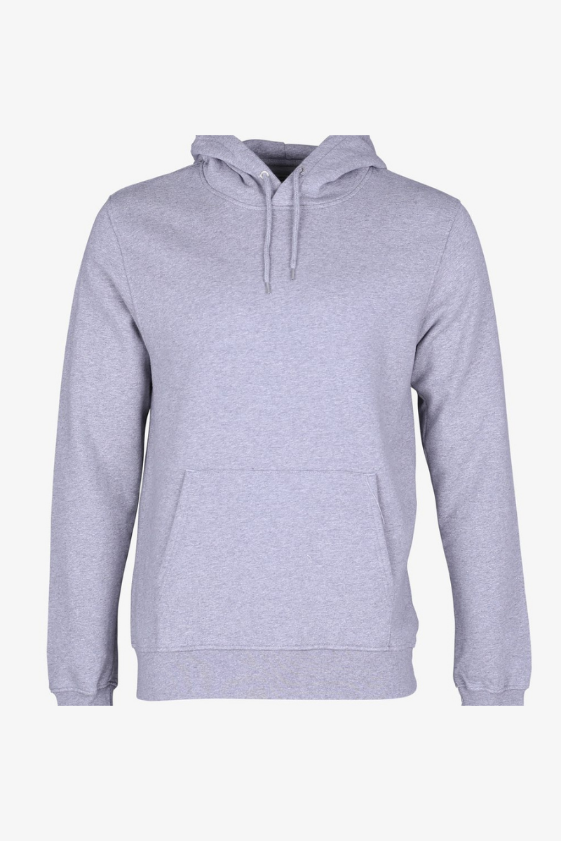 Colorful Standard - Classic Organic Hood Heather Grey