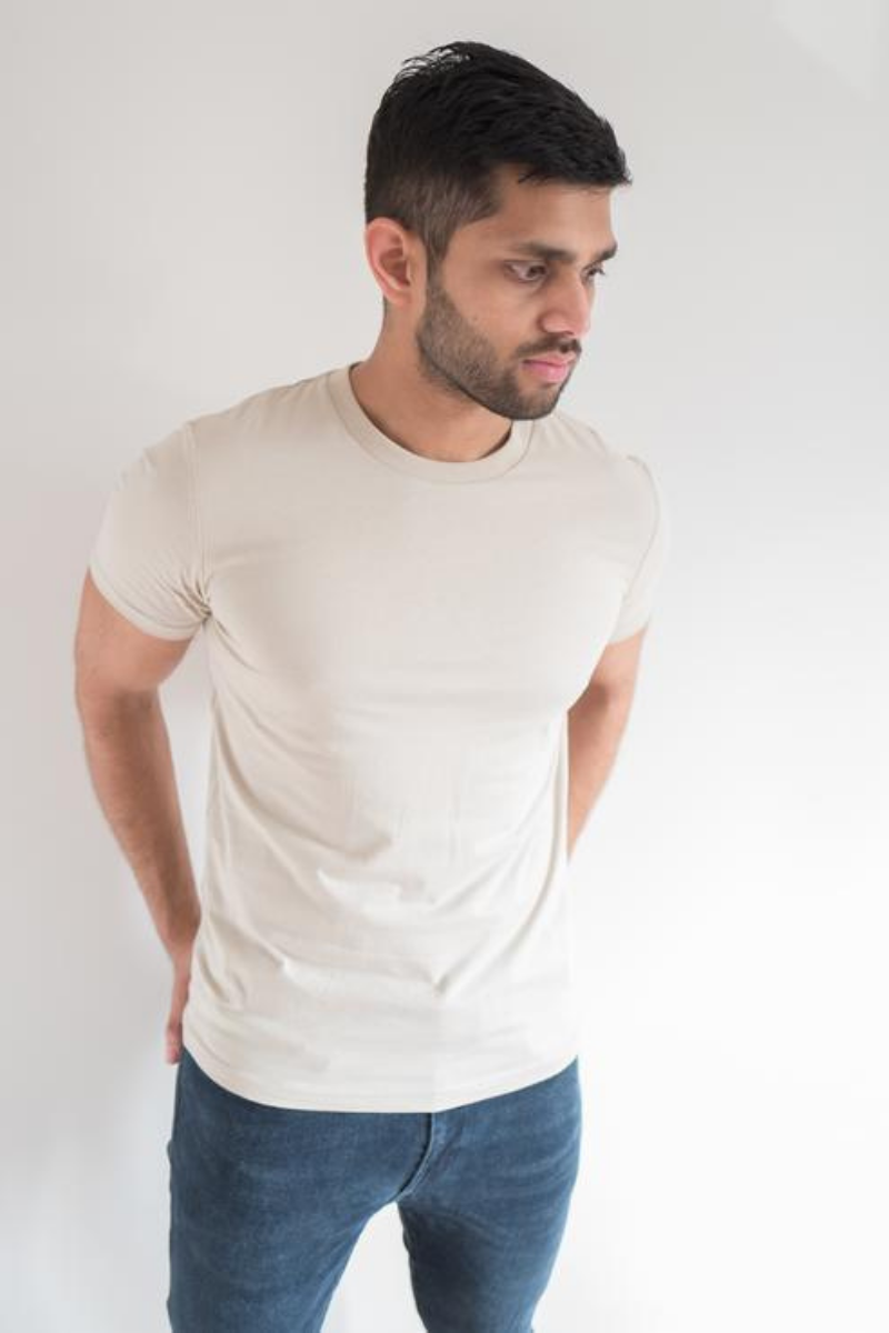 Krixon - Organic T-Shirt in Desert Dust