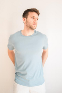 Krixon - Organic T-Shirt in Citadel Blue