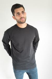 Krixon - Organic Jumper in Black
