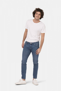 Mud Jeans - Slim Lassen in Pure Blue