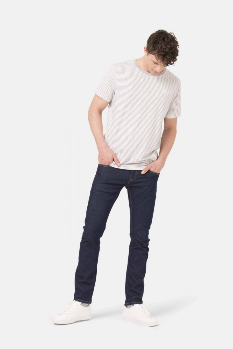 Mud Jeans - Slim Lassen in Strong Blue