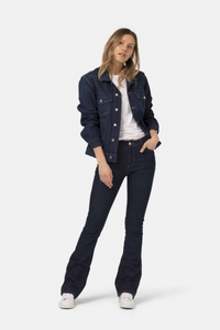 Mud Jeans - Flared Hazen in Strong Blue