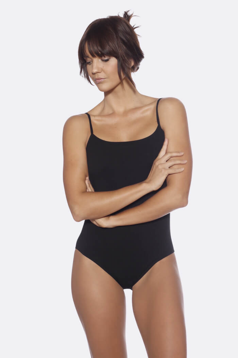 Boody - Cami Bodysuit in Black