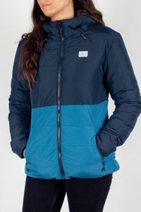 Passenger - Jackpine Recycled & Insulated Jacket in Navy & Deep Water Blue