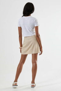 Afends - Mariah Hemp Skirt in Buttercup
