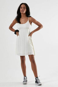 Afends - Stereo Slip Dress in Cream