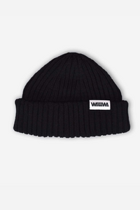 WAWWA - Zero Waste Recycled Beanie in Black