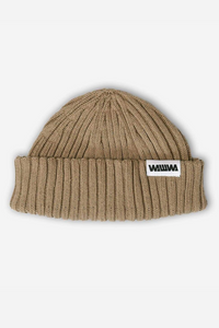 WAWWA - Zero Waste Recycled Beanie in Beige