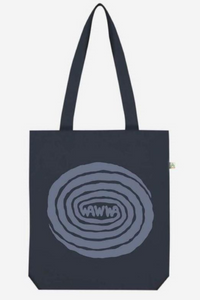 WAWWA - Swirl Recycled Tote Bag in Navy