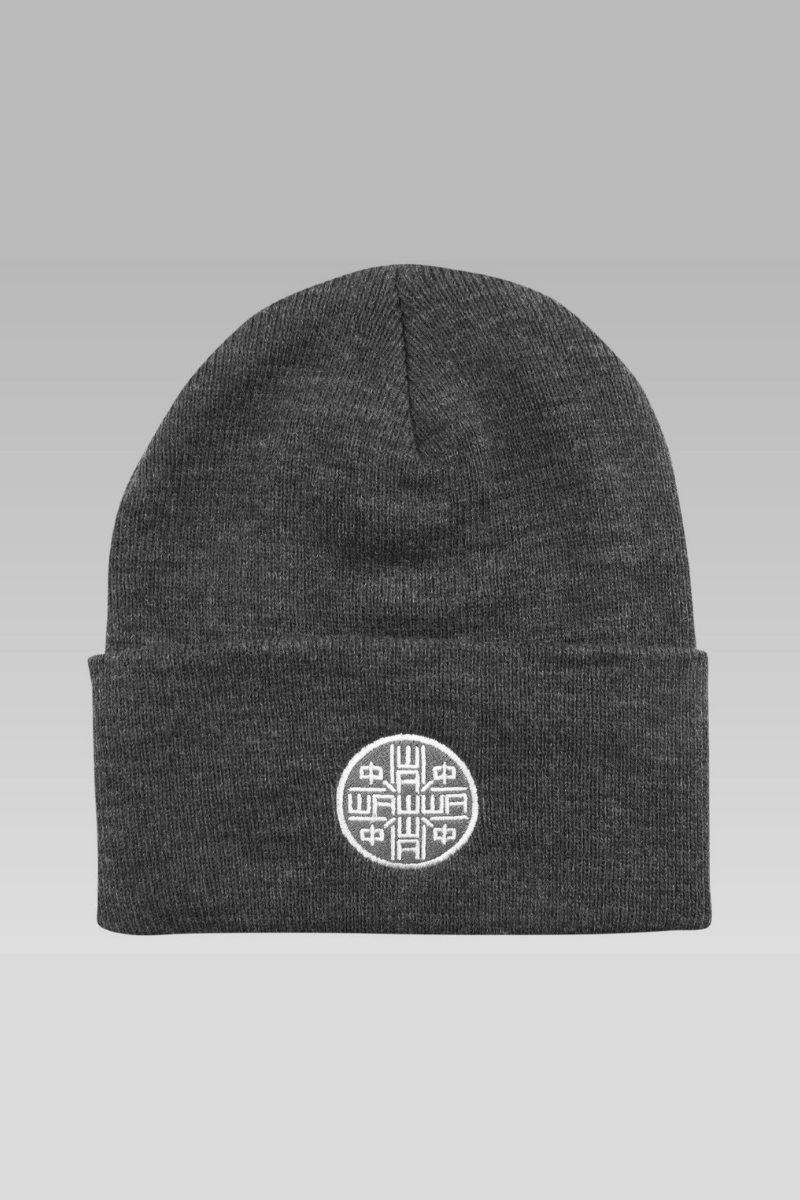 Scout Beanie in Charcoal Grey