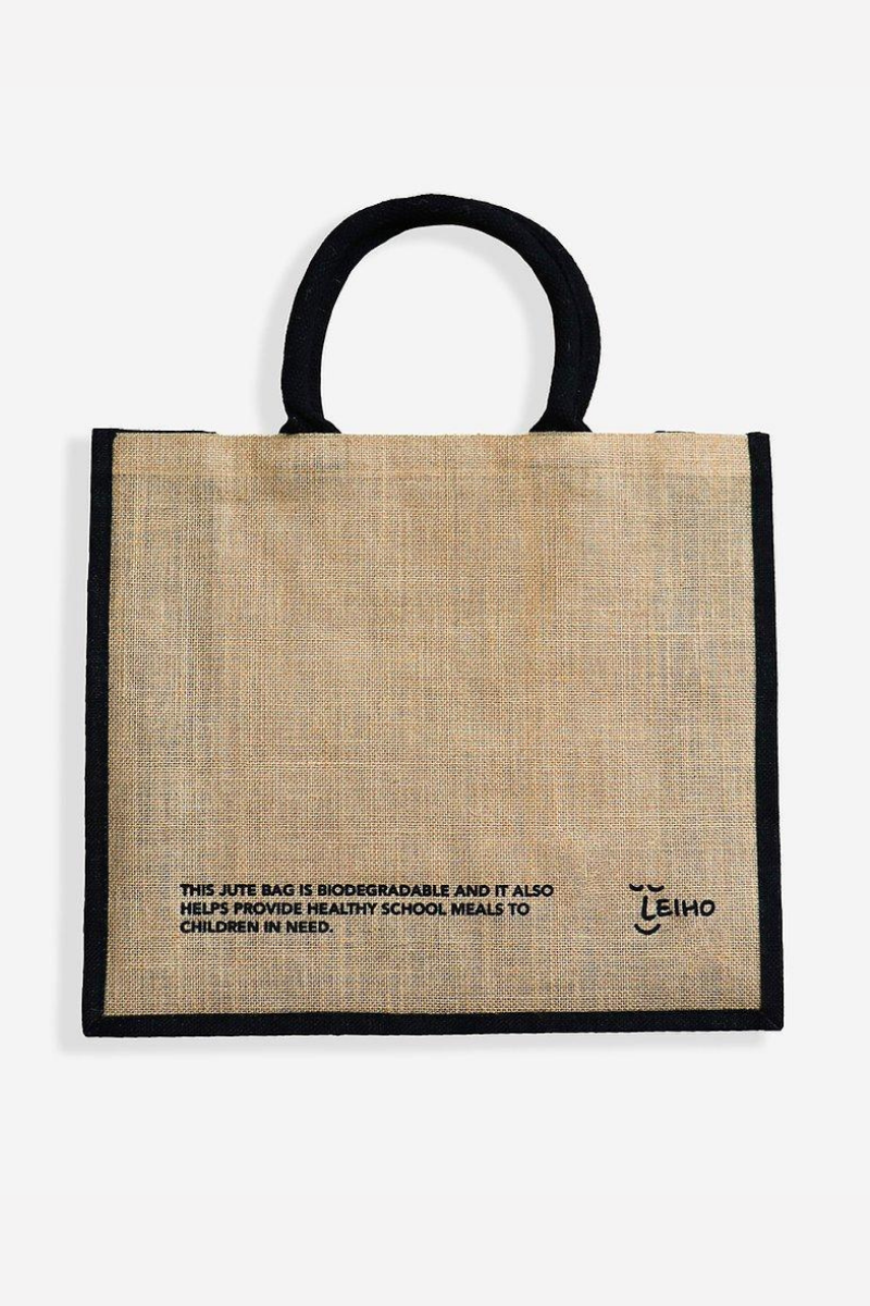 Leiho - Natural Jute for You Bag in Beige