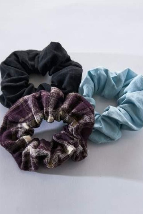 Afends - Jesse Hemp Scrunchies Three Pack