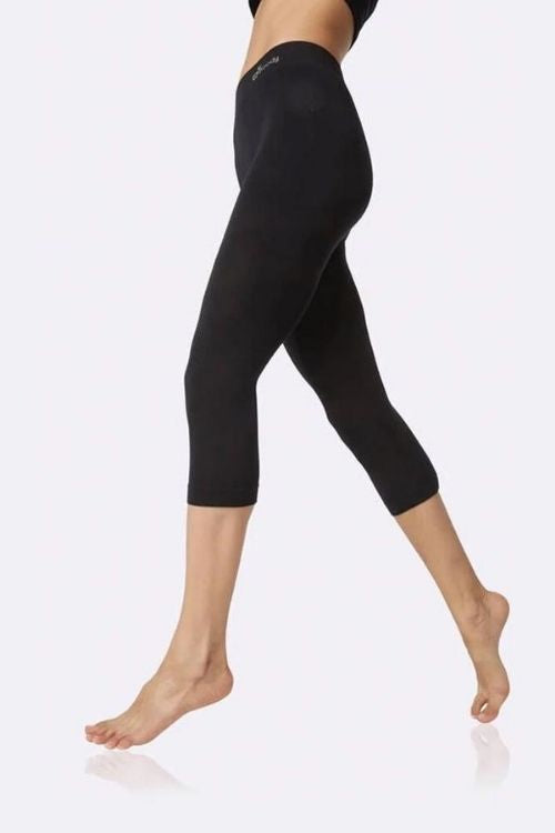 Boody - 3/4 Leggings in Black
