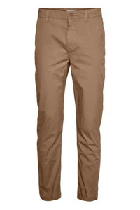 Chino Poplin Pant in Brown