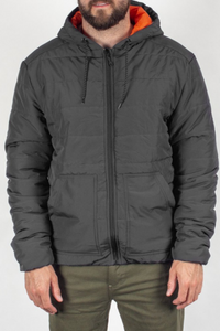 Passenger - Bobcat Insulated Jacket in Charcoal