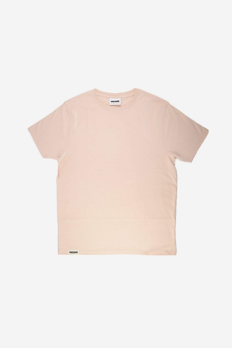 Heavyweight Organic T-Shirt in Pale Pink