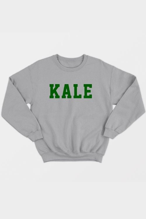 VGN Outfitters - Kale Sweatshirt in Grey
