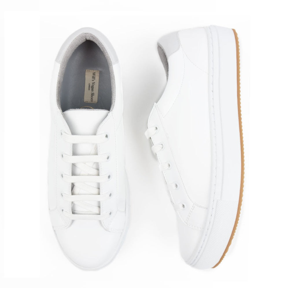 Womens NY Sneakers in White
