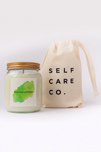 Self Care Co. - Eucalyptus and Peppermint Aromatherapy Candle
