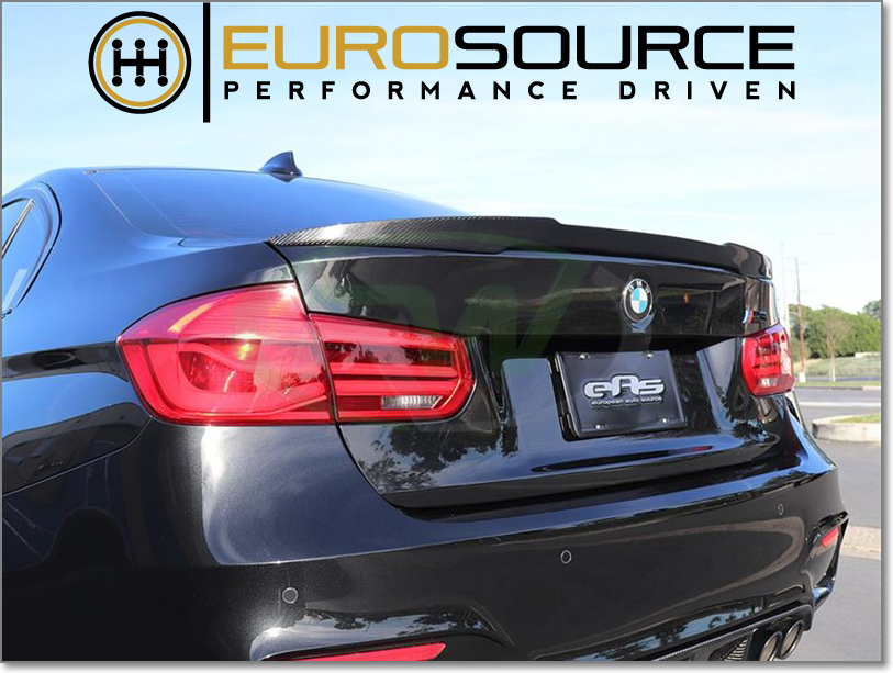 M4 STYLE REAR SPOILER - ( BMW E-Chassis )