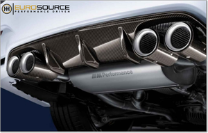 BMW  M-Performance Quad Exhaust Carbon Fiber Diffuser