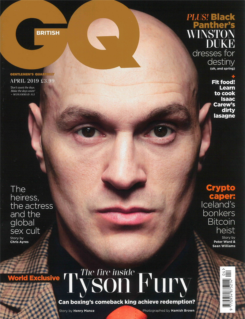 British GQ Magazine April 2019