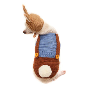 Peter Rabbit Crochet 2 Piece Outfit