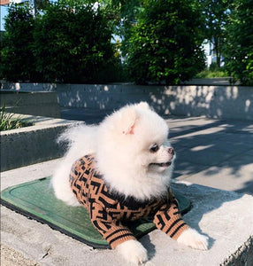 """Furry Friends 4 Life"" Furendi Wool Sweater"