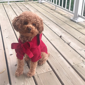 """It's Chilly Outside"" Coat - Red"
