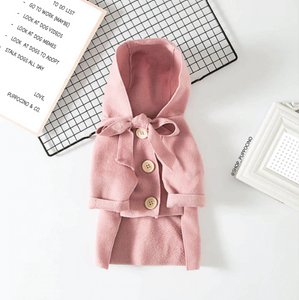 """It's Chilly Outside"" Coat - Pink"