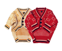 "Load image into Gallery viewer, ""I'm Gucci"" The Classy Dog Cardigan"