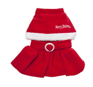 """Mrs. Claus"" Christmas Dress"