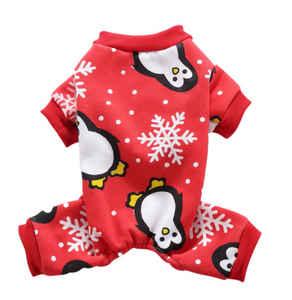 """My Ugly Christmas PJS"" - Snowy Penguin"