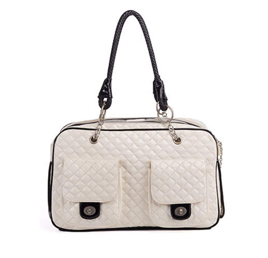 Quilted Coco Carrier - White