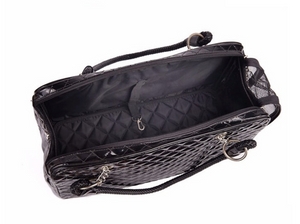 Quilted Carrier - Black