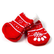 Load image into Gallery viewer, Holiday House Socks - Christmas Tree