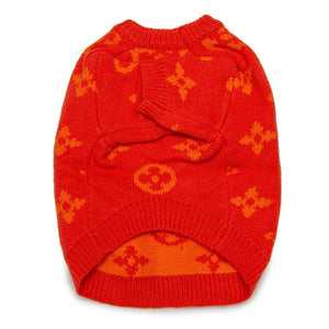 Love Me Knit Sweater - Orange