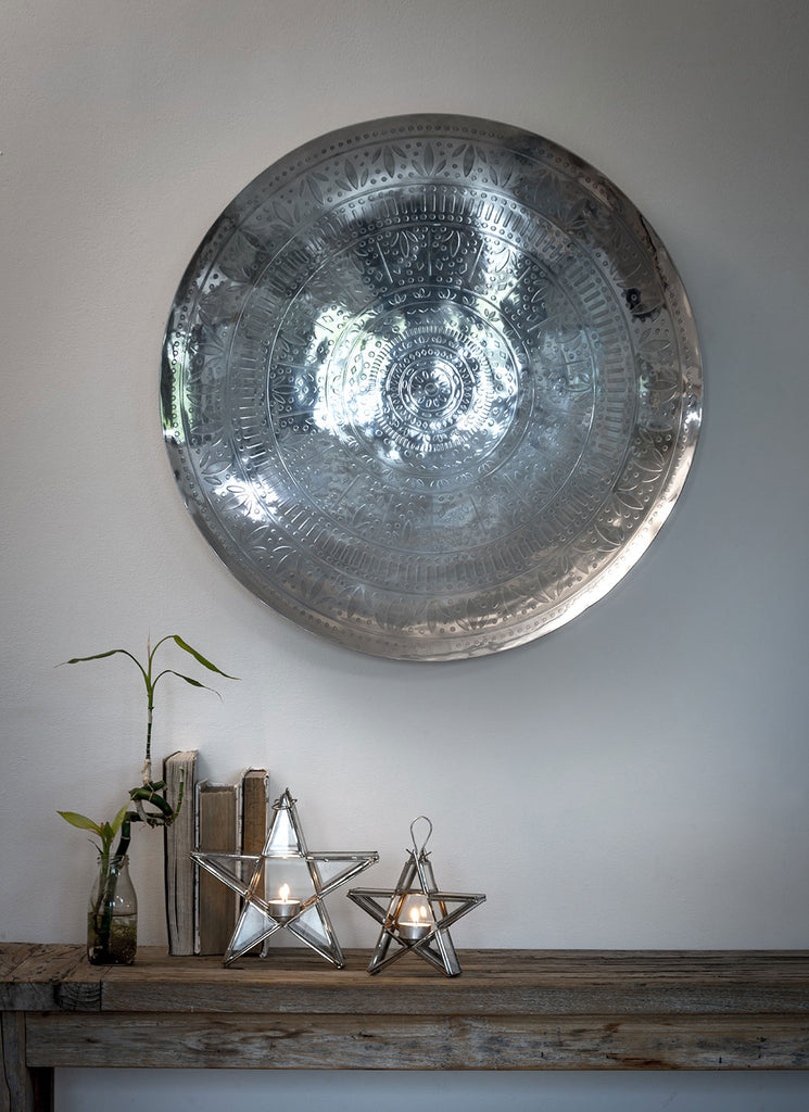 Silver Wall Dishes