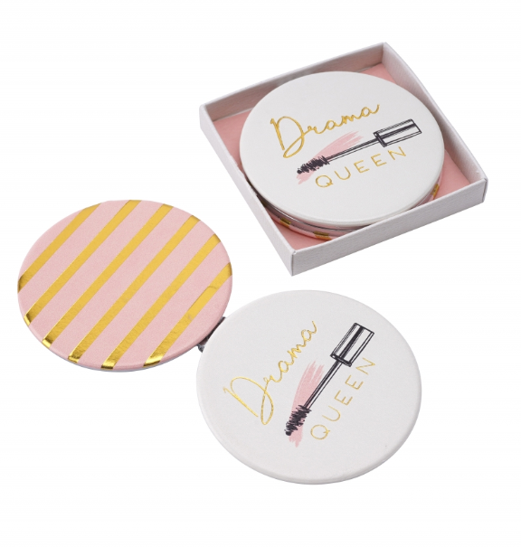 BLUSH DRAMA QUEEN Compact Mirror