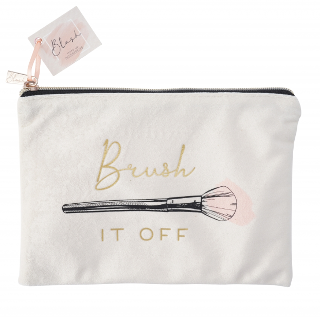 BLUSH BRUSH IT OFF Beauty Bag