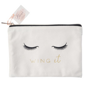 BLUSH WING IT Beauty Bag